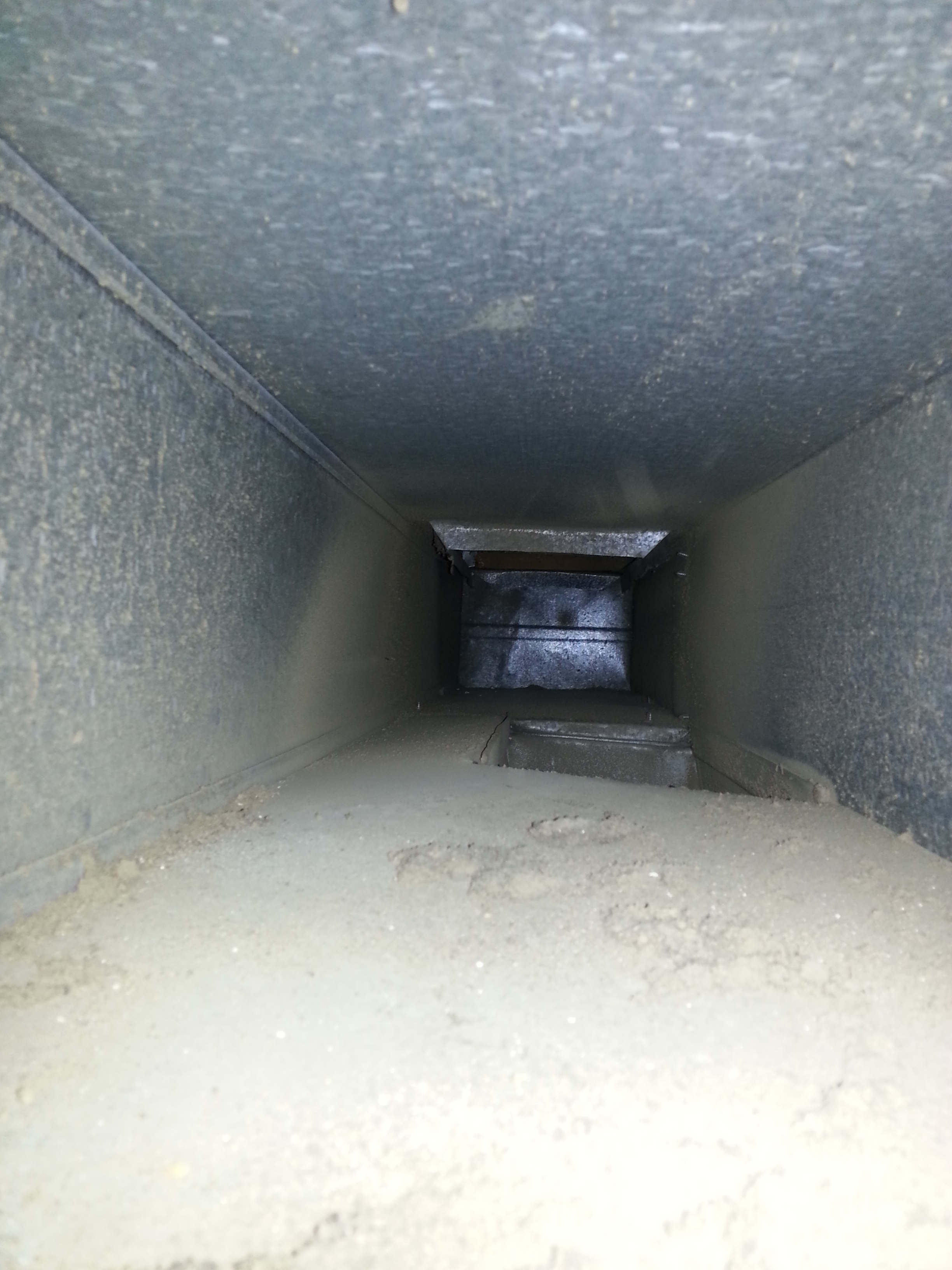 Dirty Air Ducts Pre-Clean By Real Clean Air Ducts In Montgomery, MD